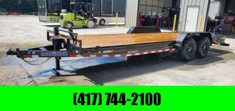 2021 Load Trail 83X22 TANDEM 14K EQUIPMENT HAULER W/ MAX RAMPS