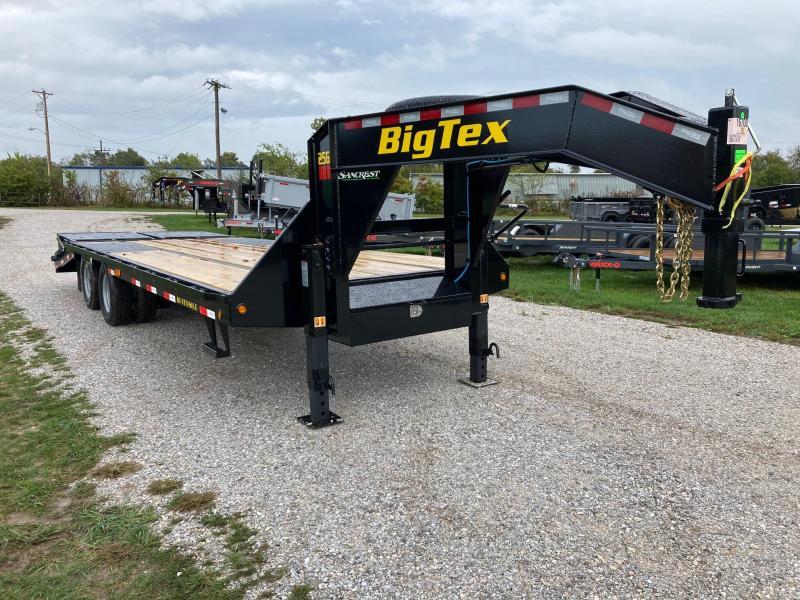 2022 Big Tex 102X25 TANDEM 25.9K GN DECKOVER W/ MEGA RAMPS