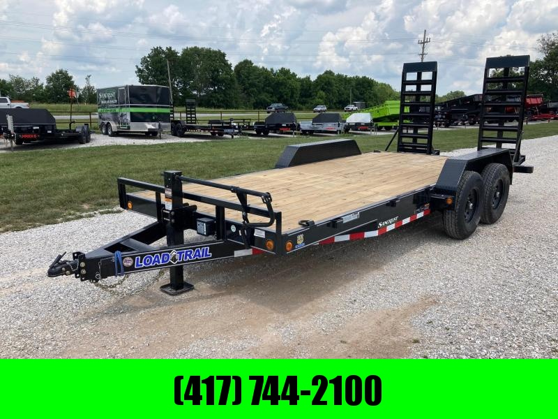 2021 Load Trail 83X18 TANDEM 14K CARHAULER W/ STAND UP RAMPS