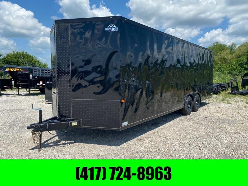2021 Rock Solid 8.5x24 Tandem Enclosed Cargo Trailer