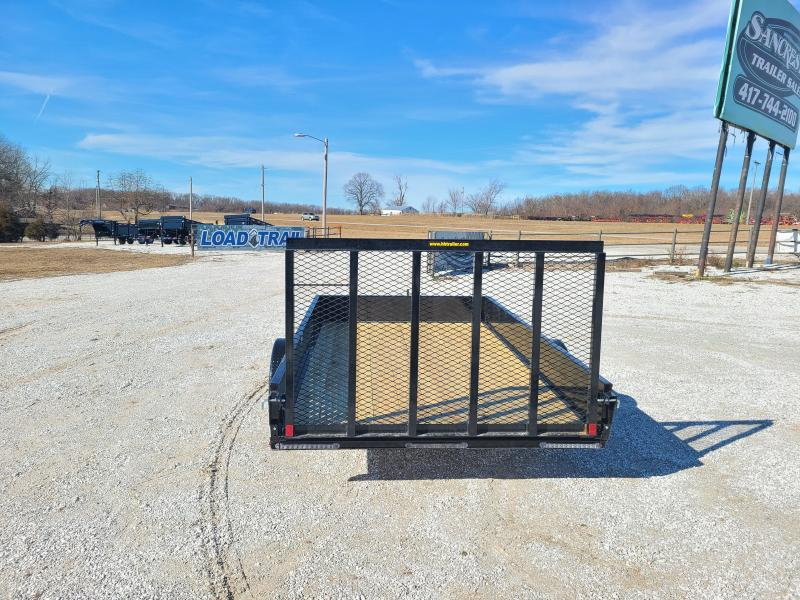 2021 H&H 82X12 SINGLE 3.5K SOLID SIDE UTILITY W/SPRING ASSIST GATE