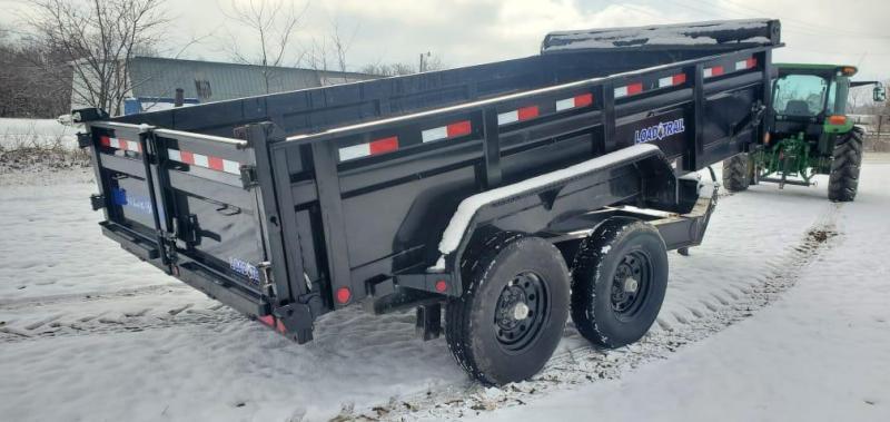 """2020 Load Trail 83X14 TANDEM 14K LO-PRO DUMP W/24"""" SIDES"""