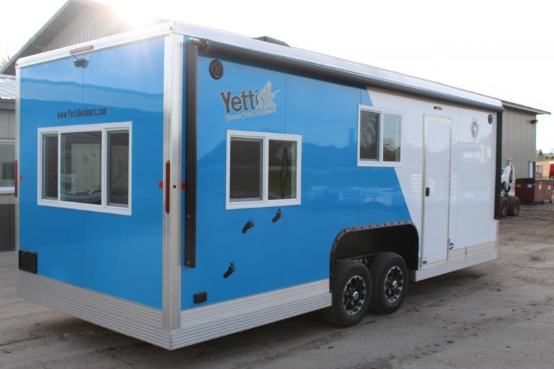 2020 Yetti Angler A821-PK Ice/Fish House Trailer