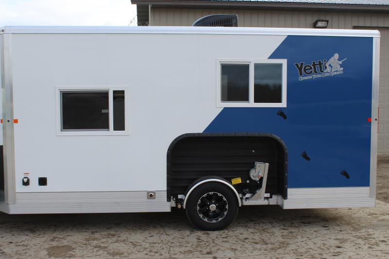 2020 Yetti Angler A816-PK Ice/Fish House Trailer