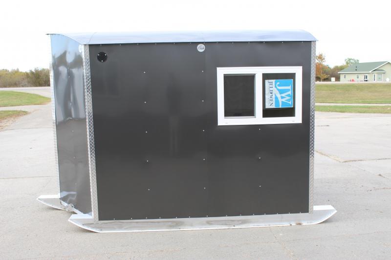 2021 Aluma Lite 6x8 V + 2 Spear Hole Fish House