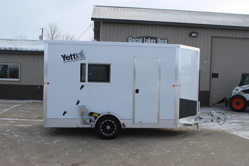 2020 Yetti Toy Hauler Shell C612 Fish House