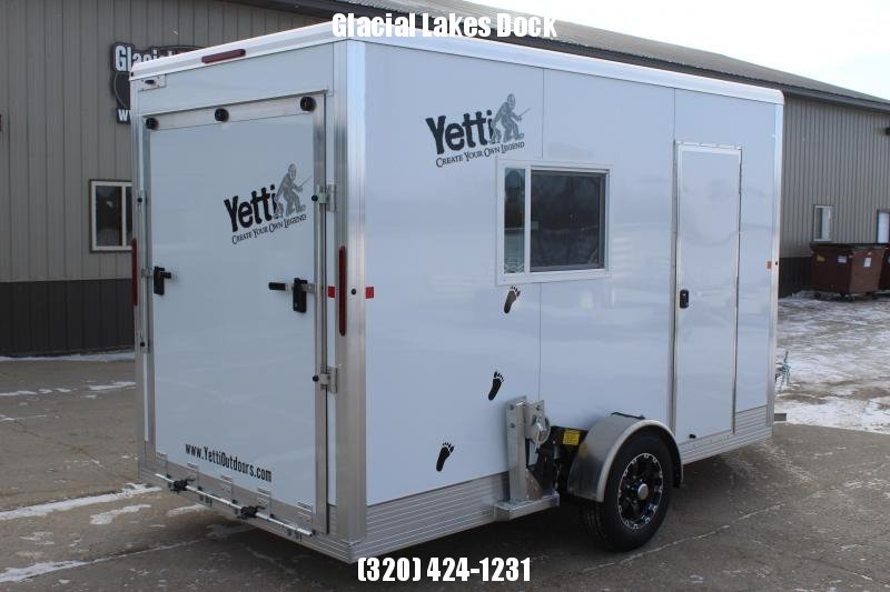2020 Yetti Toy Hauler Shell C612 Fish House