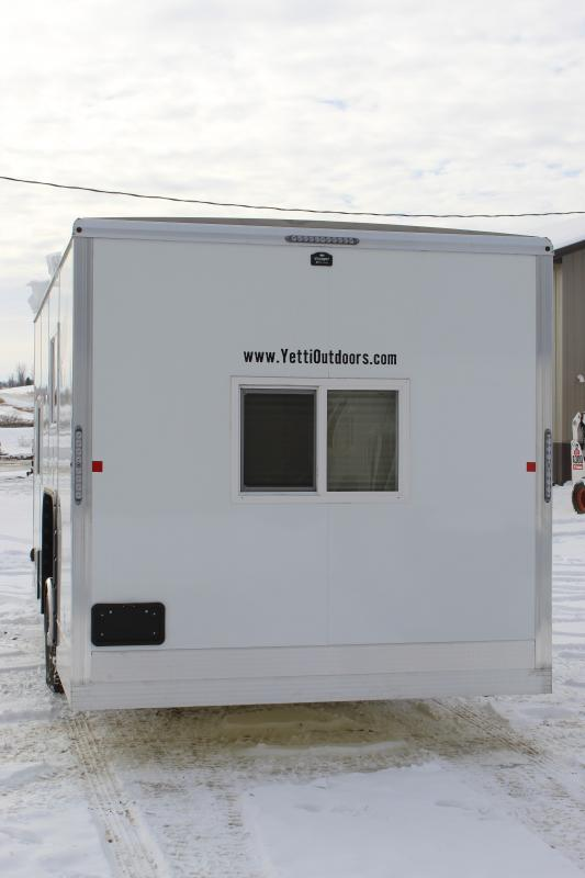 2021 Yetti Grand Escape GE816-PKH Ice/Fish House Trailer