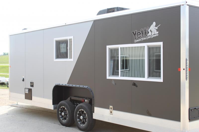 2021 Yetti Grand Escape 824-DRKF Fish House