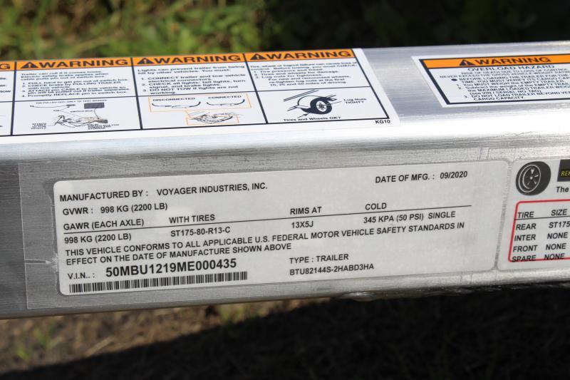2021 Bear Track 65 X 120 Utility Trailer
