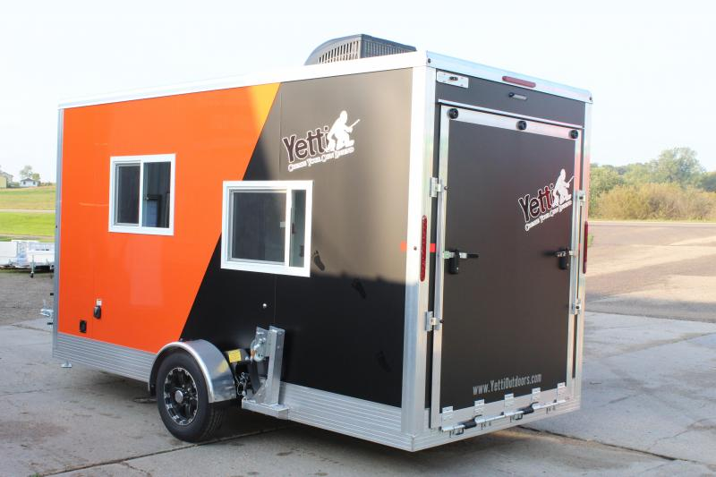 2020 Yetti Traxx T614-DK Ice/Fish House Trailer