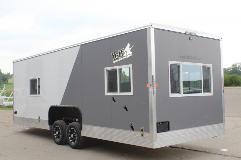 2021 Yetti Angler 824-PK Ice/Fish House Trailer