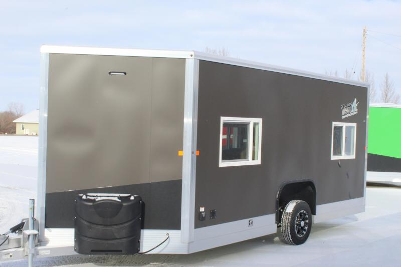 2020 Yetti Angler A817-PRK Ice/Fish House Trailer