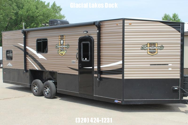 2018 Glacier Sportsman's Den RV/Fish House