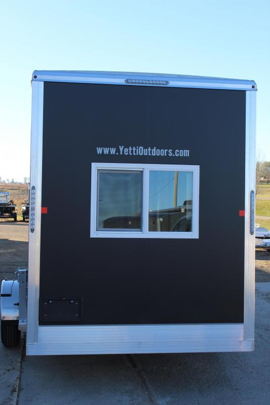 2021 Yetti Shell C614-A Ice/Fish House Trailer
