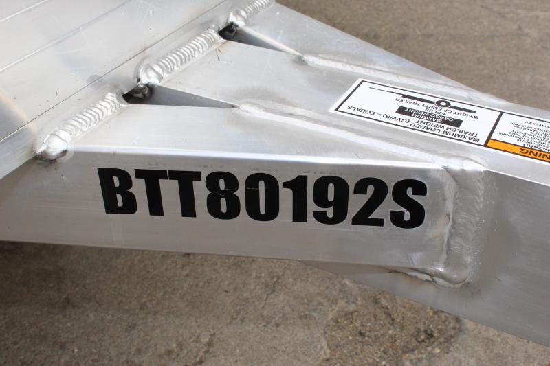 2020 Bear Track BTT80192S Utility Trailer