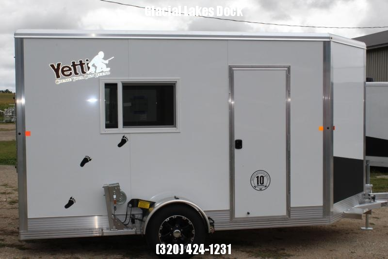 2021 Yetti Shell 612-T Ice/Fish House Trailer
