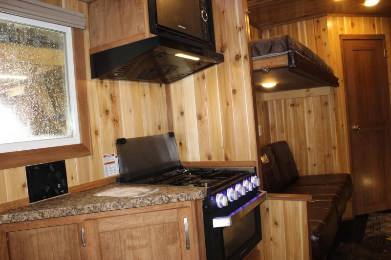 2020 Yetti Angler A616-DRK Ice/Fish House Trailer