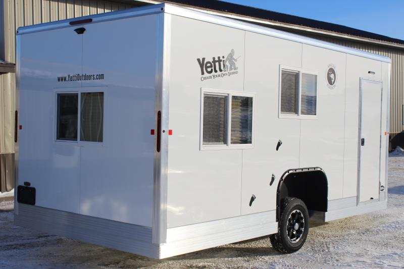 2020 Yetti Angler A817 PRK Ice Fish House Trailer