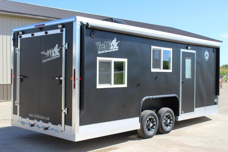 2019 Yetti Traxx 821-PK Ice/Fish House Trailer