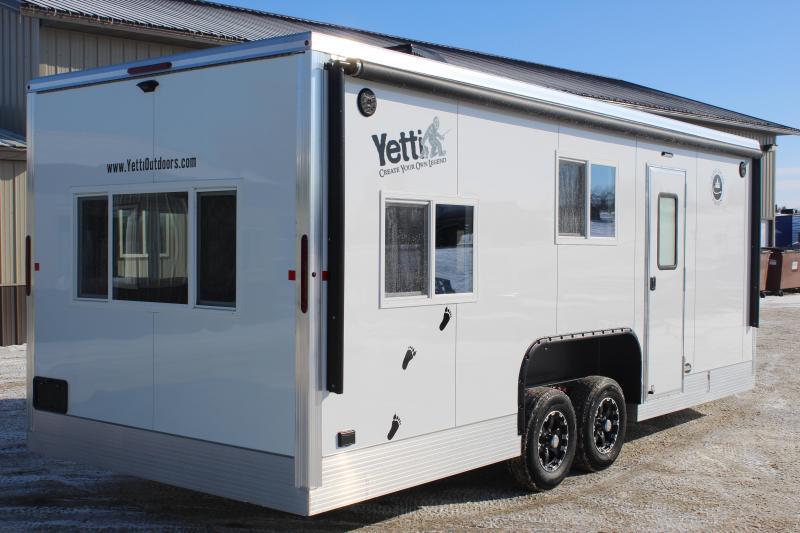 2020 Yetti Grand Escape GE821-PKF Ice/Fish House Trailer