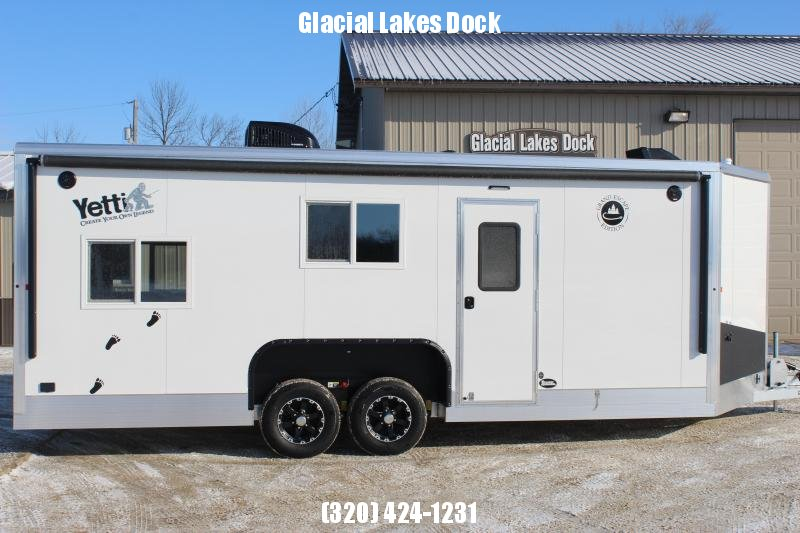 2020 Yetti Grand Escape GE821-PKF Ice/Fish House Trailer