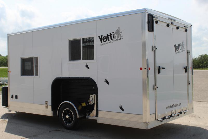 2021 Yetti Traxx T816-PK Fish House