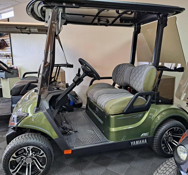 2021 Yamaha DR2E Golf Cart