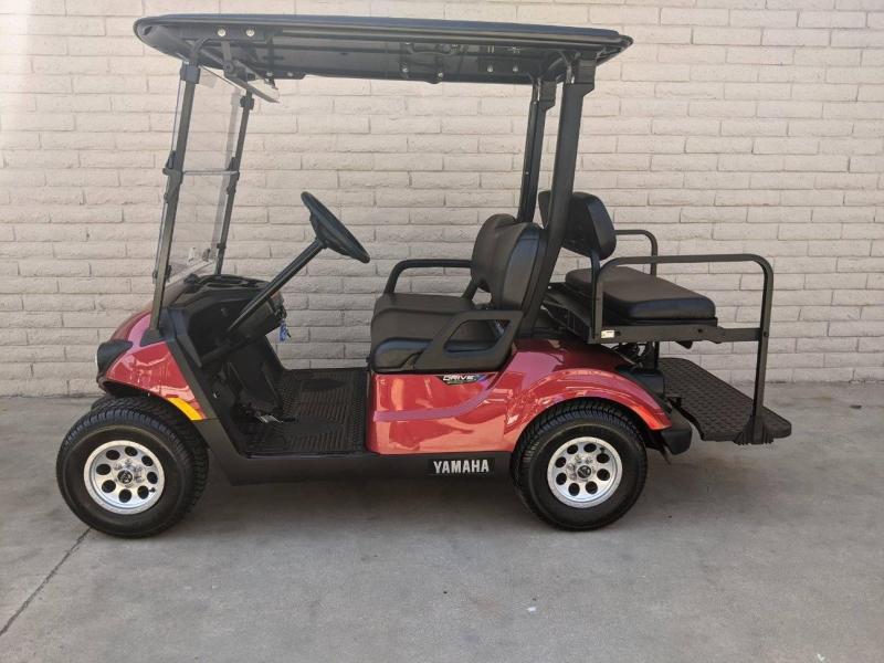 2021 Yamaha 4 Passenger Golf Cart