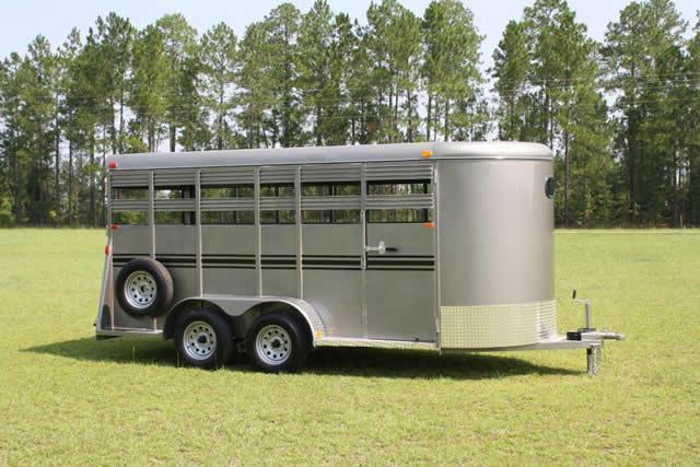2019 K and K Trailers K K Bumper Stock Trailer Livestock Trailer