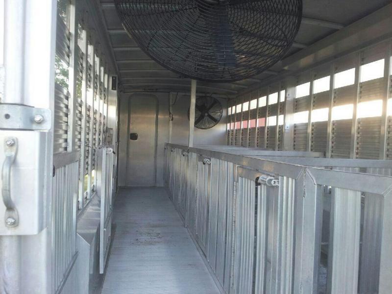 2011 Alum-Line =25 ft Stock / Stock Combo Trailer