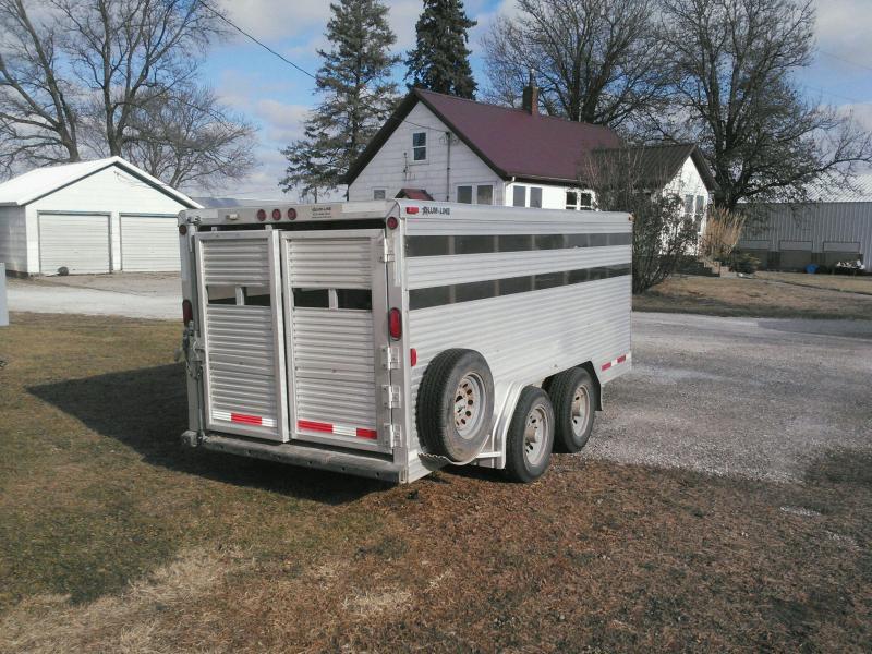 2011 Alum-Line Trailers Showmaster Livestock Trailer