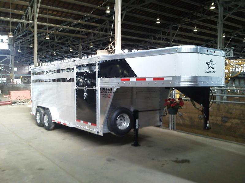 2013 Alum-Line 20 ft Stock / Stock Combo Trailer