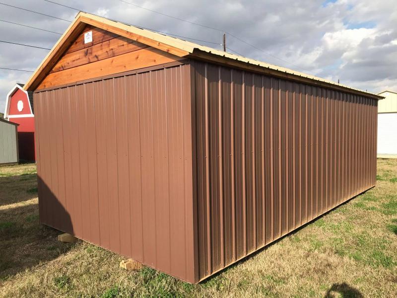 SOLD: 2021 General Shelters 12 x 24 Dormer Cottage Shed