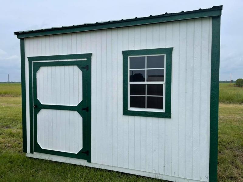 2021 Graceland Portable Buildings Garden Shed 8'x12' Utility Shed