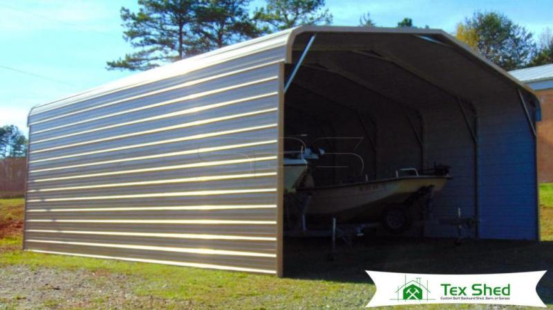 20 x 31 x 9 Metal Carport / Storage