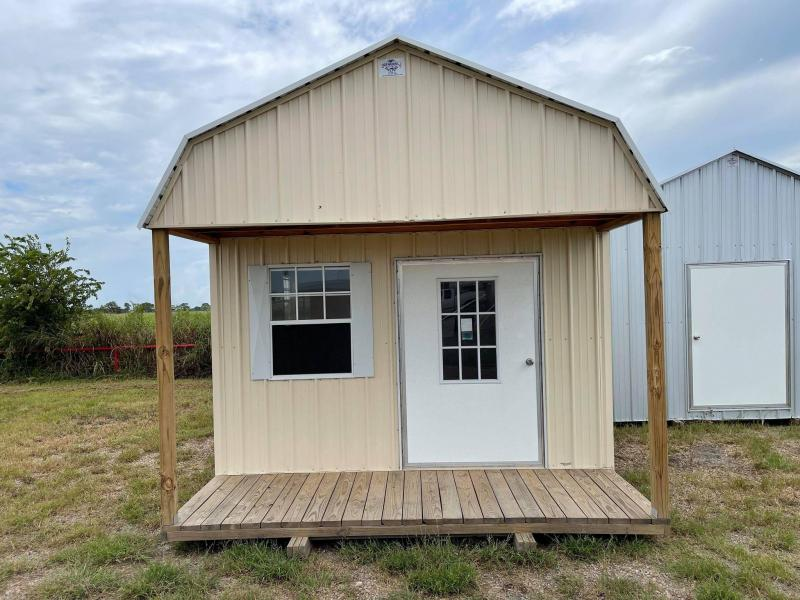 SOLD: 2021 General Shelters 12' x 24' Porch Cabin Shell Cottage Shed