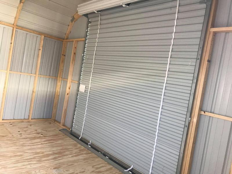 2021 General Shelters 16x30 with garage Barn