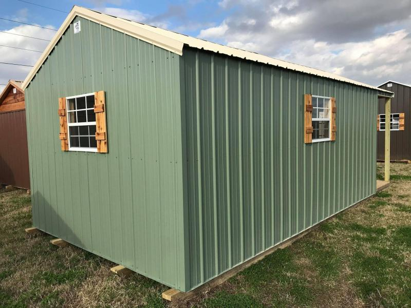 2021 General Shelters 12x24 Gable Cabin Shell Cottage Shed