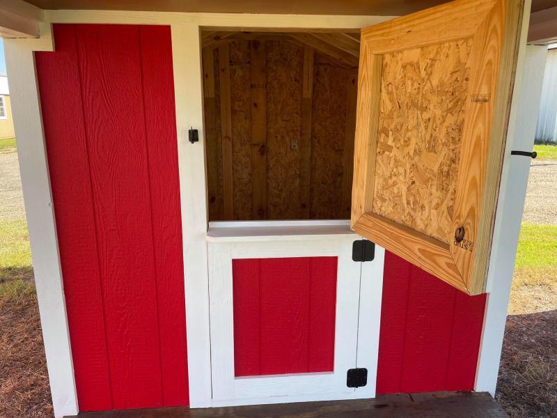 2021 TexShed 8' x 16' x 5' Play Barn & Deck