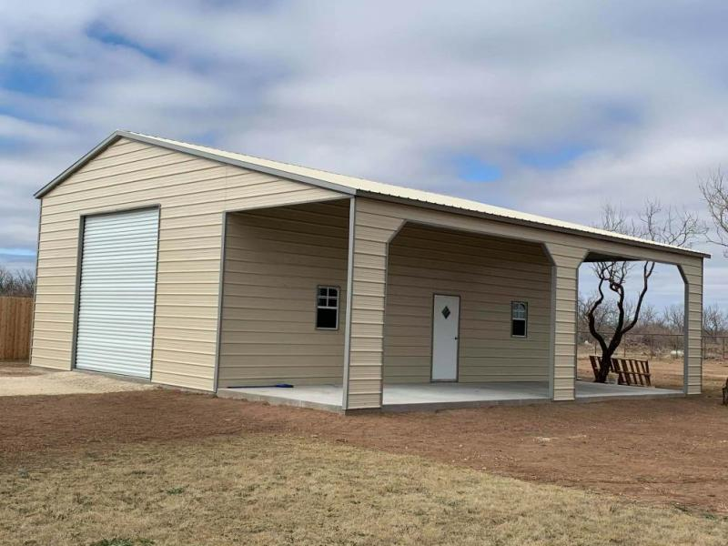 2021 Star 36'x30'x13' Shop with Patio Metal Building