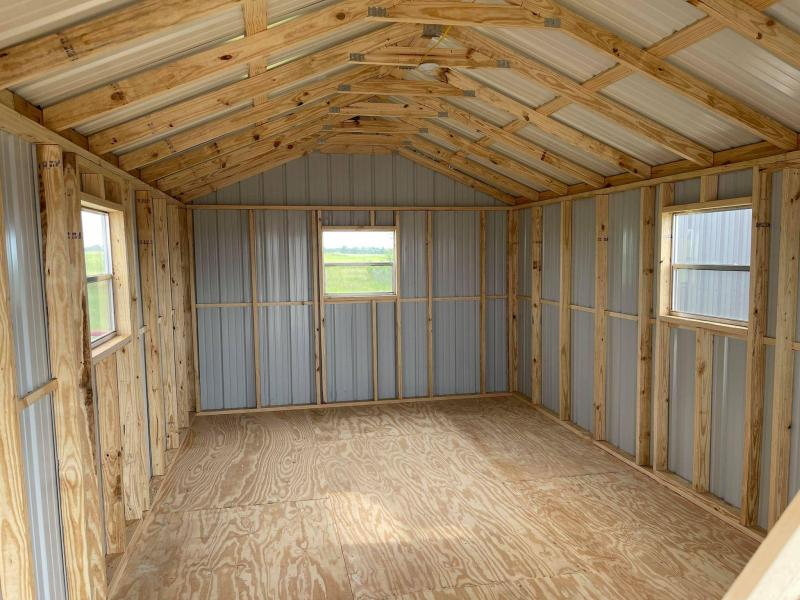 2021 General Shelters 12' x 24' Cabin Shell Cottage Shed