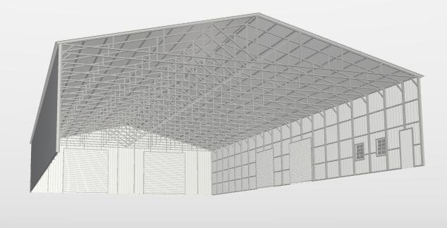 2021 Safeguard 60'x100'x15' Commercial Metal Building