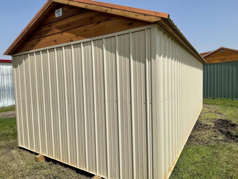 2021 General Shelters Dormer Shed 12 x 24 Cottage Shed