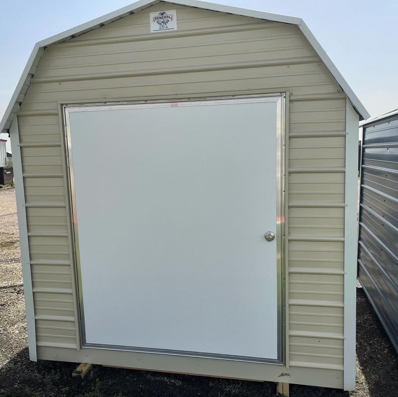 2021 General Shelters 8 x 8 Eff. Barn Utility Shed