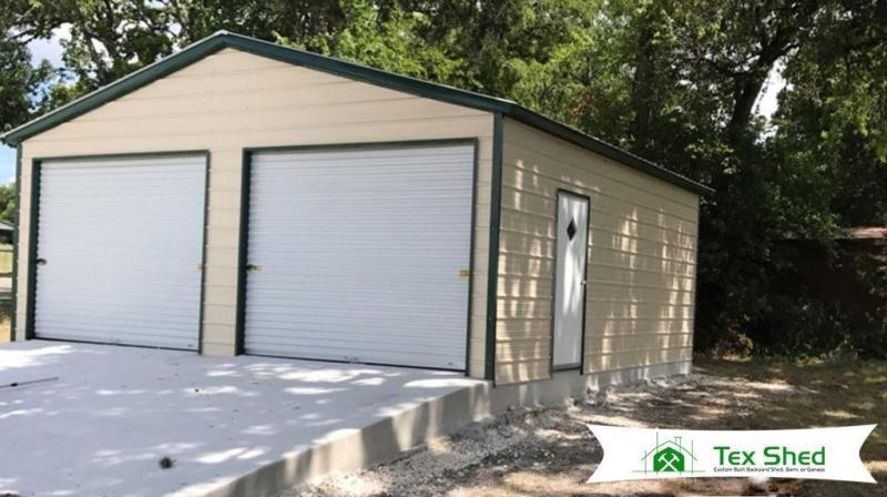24 x 26 x 9 Garage - Vertical Style