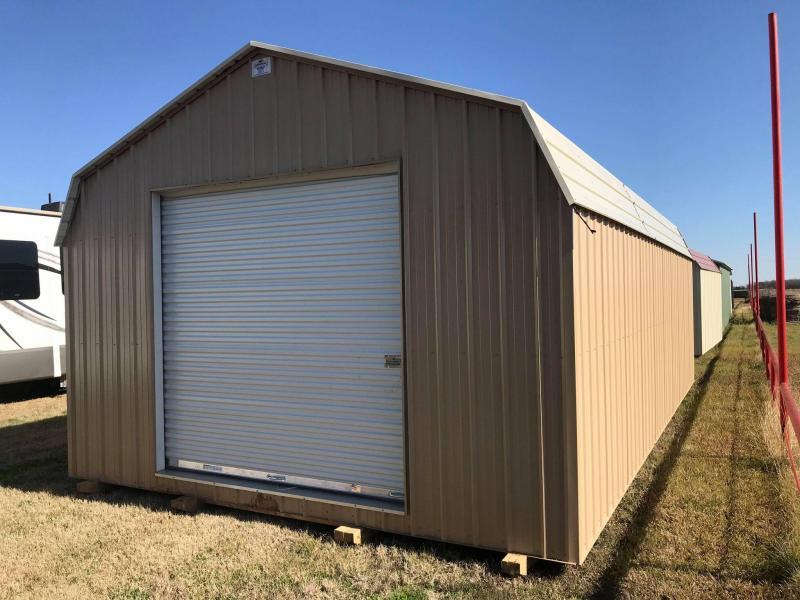 2021 General Shelters 16' x 30' Garage Barn