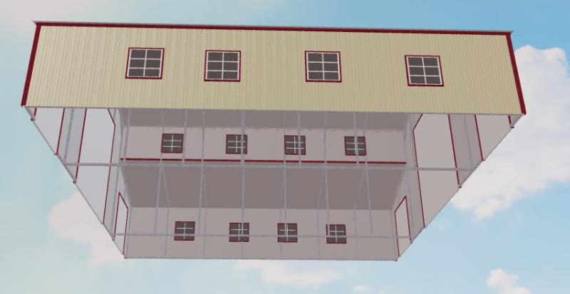 2021 Safeguard Metal Buildings 40' x 36' x 14'/7' Metal Building