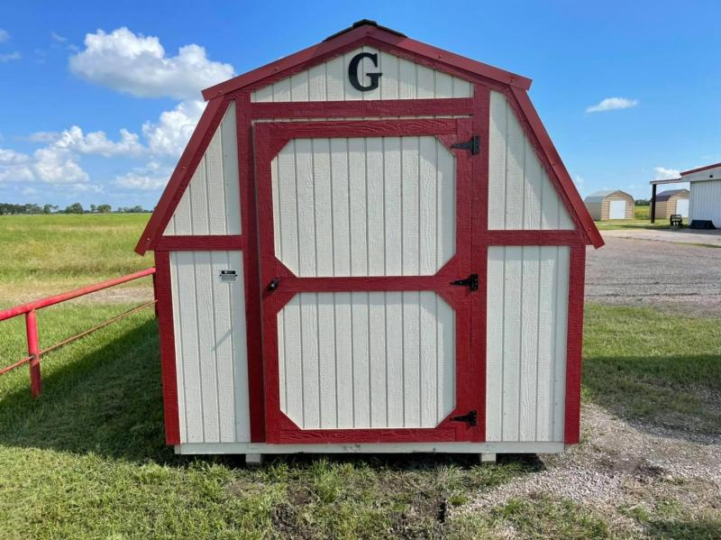 2019 Graceland Portable Buildings Barn Style 8'x12' Utility Shed