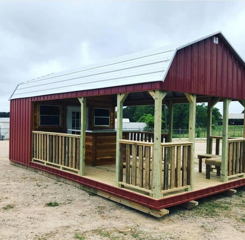 2021 General Shelters Party Barn - Custom
